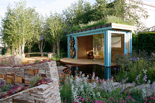 Wild Backyard Ideas : New wild garden Chelsea RHS (photoJaneSebire)